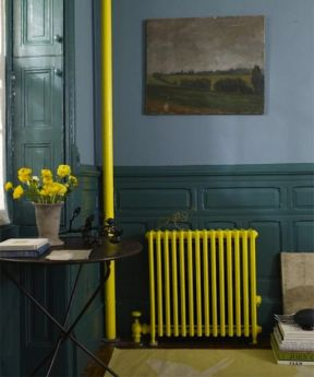 Yellow Radiator